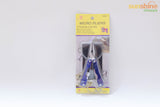 Plier screw driver multipurpose tool Metal Key chain useful and purposeful  - 1 pc