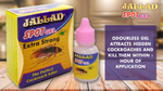 Cockroach Killer Gel Jallad Spot Gel Anti Cockroach 40g - Pack of 4