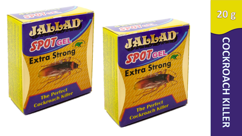 Cockroach Killer Spot Gel Jallad Spot Gel Anti Cockroach , 20g - Pack of 2