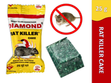 Diamond Rat Killer Rat Cake Biscuit Rodent Control Poison (25 g x 24)