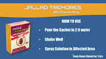 Jallad Tremores Bug Fighter Powerful BedBugs & Termites Killer Spray Powder Base Formula (10 gm)