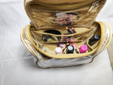 Travel Cosmetic Hanging Bag Organizer for Toiletry Shave Make Up Kit pouch