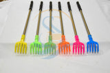 Back Scratcher Long Handle Back Massage Telescopic Scratching Scraper Itch 2 pc