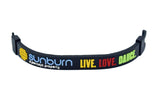 Wristband 24 mm Silicone Rubber Lock Pattern Sunburn