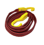 Luggage Double Elastic Bike Scooty Rope Bungee Cord Utility Rope for Bikes with Durable Hook