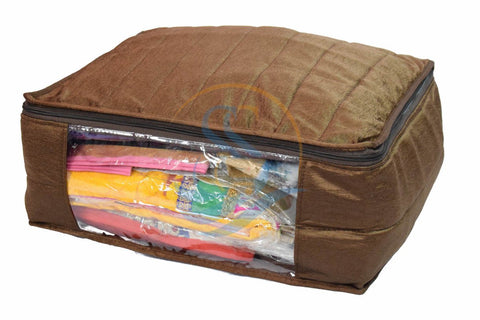Clothes Cover Storage Organizer Silky COLORS ASSORTED - 3 pc