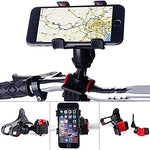 Mobile Holder 360 Degree Rotating Bicycle Holder Motorcycle Cell Phone Cradle Phone Mount (Mount & Stand.)