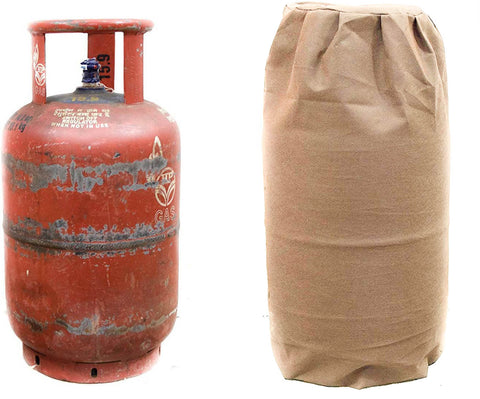 Kitchen LPG Cylinder Cover - Non Woven - 250 GSM - Beige