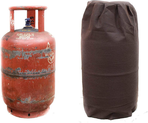 Kitchen LPG Cylinder Cover - Non Woven - 250 GSM - Brown