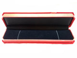 Necklace Velvet Folding Box Organiser Gift Box RED/BLUE - 2 Pc