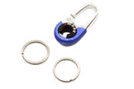 OMUDA Premium Metal key chain ring - 1 pc