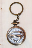 Retro Designer Premium Watch Metal key chain ring - Large - 1 pcs