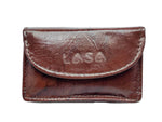 LASA Genuine Leather Money Purse Pocket with keychain (Medium, SET OF 2)