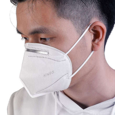 Face Mask KN95 with Nose Clip for Men & Women (Reusable). 5 Layer Filter Protection against Pollution, Dust, Germs, etc.