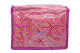 Make up Jewellery Organiser Bangle Cosmetic Pouch Travel bag kit (Pink/Raani)