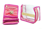 Compact Jewelery Medicine Transparent Pouch 1 pc Mix color