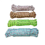 Clothes Nylon Braided Cotton Hanging Rope For Both Indoor And Outdoor Purpose 20 meters