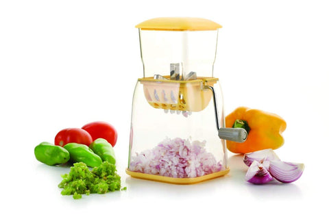 Jony Vegetable & Onion Chopper/Cutter, 1 - Piece (Assorted Color)