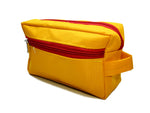Travel Morning Toiletry Lingerie UG Multipurpose Storage Pouch - Yellow - 2 pc
