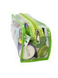 Travel Morning Toiletry Shaving Multi-Purpose Pouch kit (Green, Set of 2)