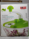 Dual Speed Multipurpose 10 in 1 Kitchen Food Manual Processor (Assorted Colors) with 2 in 1 Multi Cutter