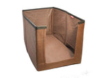 Clothes Stacker Wardrobe Organiser Sari Shirt Closet Organizer - (Brown, Set of 2)