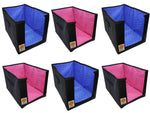 Clothes Stacker Wardrobe Organiser Sari Shirt Closet Organizer - (Assorted, Set of 1)