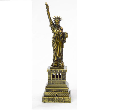 Statue of Liberty statues French Metal Souvenir Replica Cake Topper 6 and 7 Inch Gift