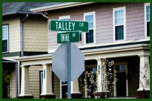 The Intersection of Talley & Twine