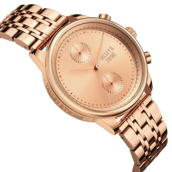 [41mm] Women's Worley Chronograph M - Rose Gold