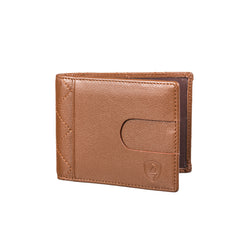 Brown Leather Slim Wallet