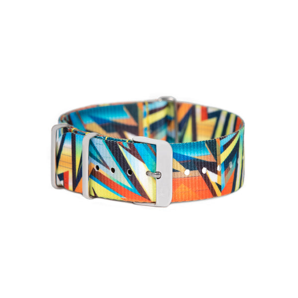 "Multi-Colored ""Art Series"" Canvas Band"