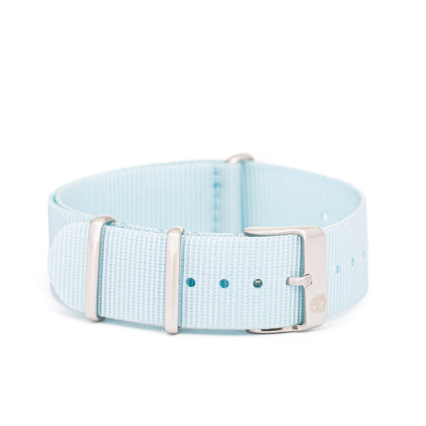 Light Blue Canvas Band