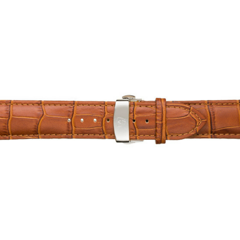 Tan Calfskin Leather Band