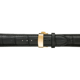 Black Calfskin Leather Band