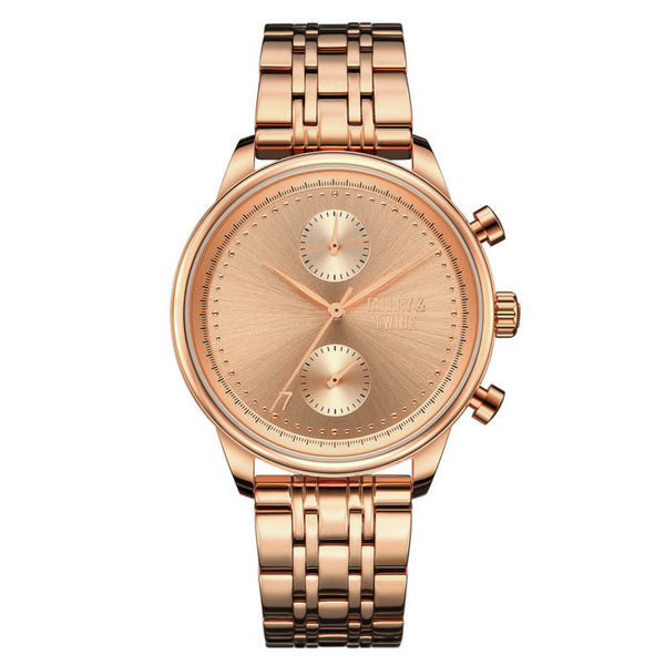 41mm Women's Worley Chronograph M - Rose Gold