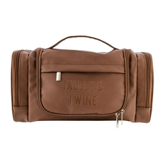 Talley & Twine Hanging Toiletry Bag - Cinnamon