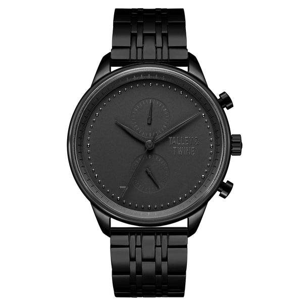 **PRE-ORDER & SAVE! SHIPS BY OCTOBER 15TH**[WOMEN'S 41mm] Worley Chronograph M - Black
