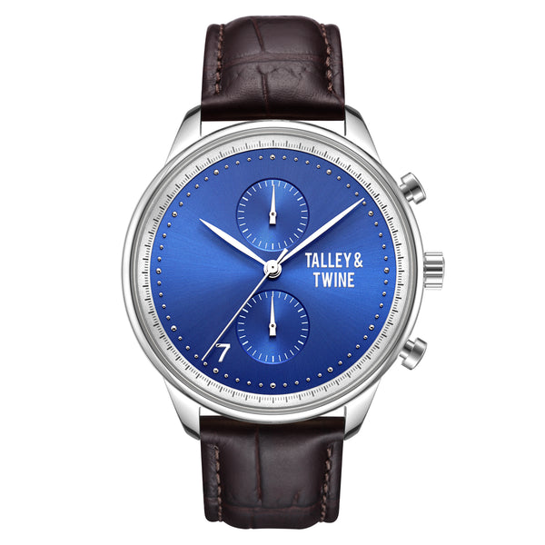 Men's Leather Band Watches – Talley & Twine Watch Company