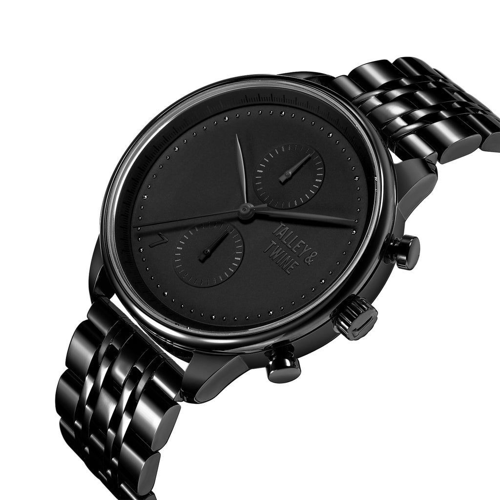 [PRE-ORDER ONLY - Ships week of May 21st] Worley Chronograph M - Black