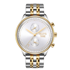 Worley Chronograph M - Silver & Gold