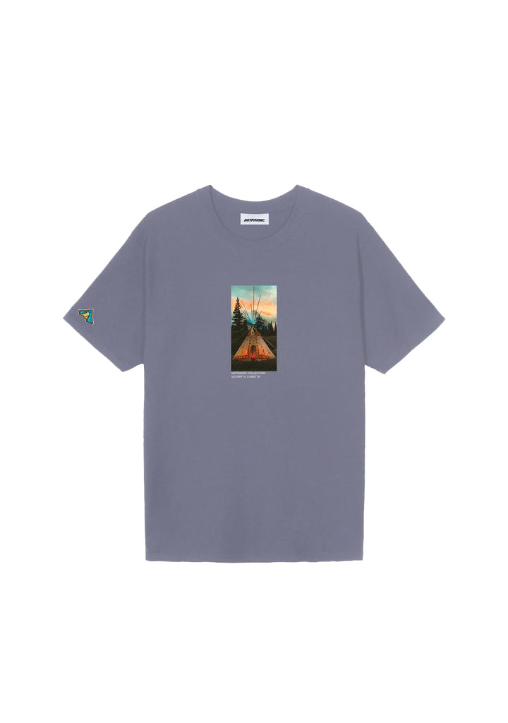 Blackfoot Camp Tee 2 Lava Grey