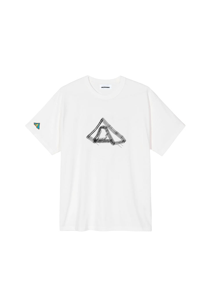 Wireframe Tee 3 White