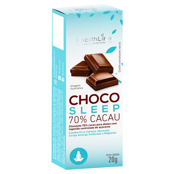 Choco Sleep - HEALTHLINE | Suplementos e Nutracêuticos