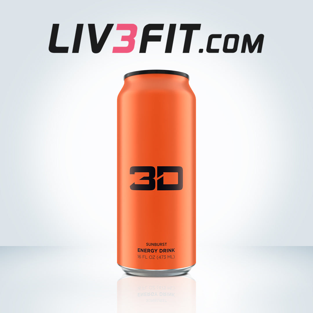 3D ENERGY DRINK ORANGE - Orange Blast 200mg Cafeína