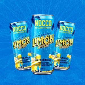 NOCCO BCAA LIMON DEL SOL - BCAA + 180mg Cafeína 330 ml - LIV3FIT
