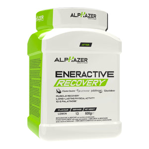 ALPHAZER ENERACTIVE RECOVERY - Palatinose™+ Glucidex®+ ClusterDextrin®+ Sustamine® 600g - LIV3FIT