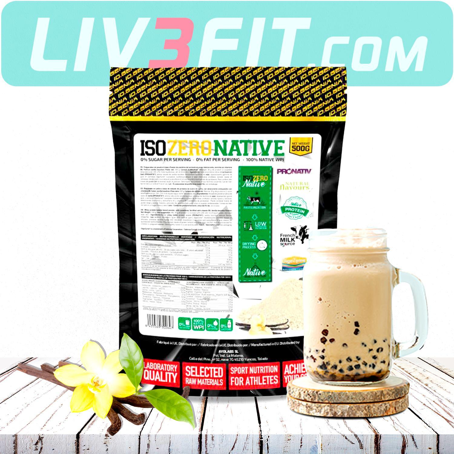 IOGENIX ISO ZERO NATIVE - ProNativ® 500G - LIV3FIT