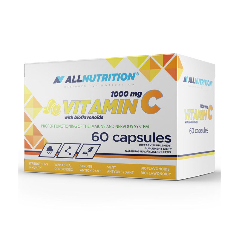 ALLNUTRITION VITAMIN C BIO - Vitamina C 1000mg - 60 CAPS