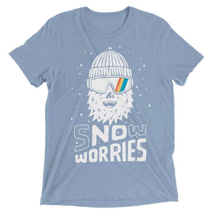 Snow Worries Yeti T-Shirt - Slope Mountain Gear